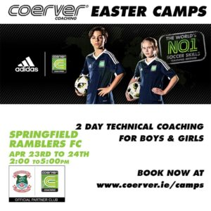 Coerver Easter Camp