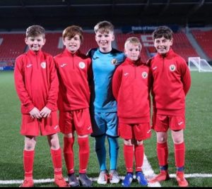 U12's at Cork Independent Park