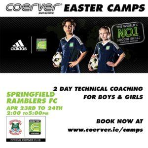 Coerver Easter Camp